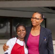 Hajaratu Otchie, hardworking hospitality manager